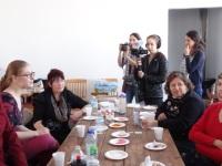 Les femmes témoignents de leur expérience dans le processus et l'action du 8 mars 2015