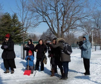 Équipe tournage