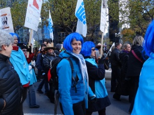 Manifestation contre l'austérité du 31 octobre 2014