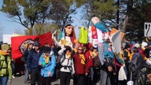 Les femmes étaient très nombreuses à la Marche de 2010!