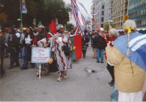 Louise Miller était aussi présente à New York en 2000