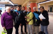 L'équipe des femmes réseautées et engagées de La Marie Debout: Louise Bélanger, Agathe Kissel, Francine Quesnel, Lise Dugas, Véronique Morel et Nicole Desaulniers (de gauche à droite)