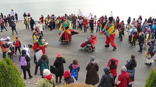 Marche mondiale des femmes ~ 17 oct. 2015 à Trois-Rivières.