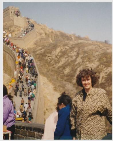 Francine-Grande muraille de Chine